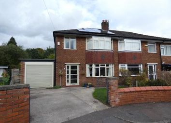 Thumbnail 3 bed semi-detached house for sale in Holwood Drive, Whalley Range, Manchester, Greater Manchester