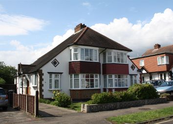 Thumbnail 3 bed semi-detached house for sale in Gayfere Road, Stoneleigh, Epsom