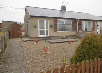 Thumbnail 2 bed semi-detached bungalow for sale in Garden View, Butterknowle, Bishop Auckland
