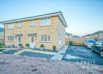 Thumbnail 3 bed semi-detached house for sale in Clare Drive, Silver End, Witham