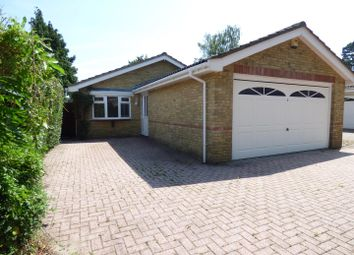 Thumbnail 3 bed detached bungalow for sale in Woodside Road, Ferndown