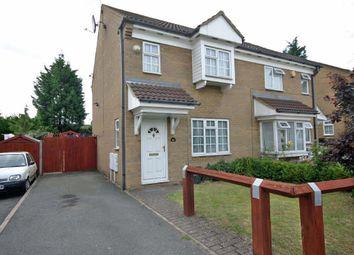 Thumbnail 3 bed semi-detached house for sale in Dorrington Close, Luton