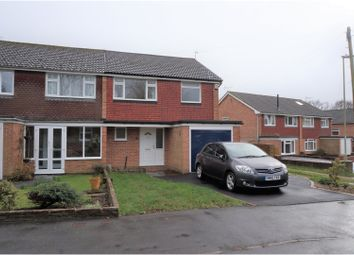 Thumbnail 3 bed semi-detached house for sale in Whichers Close, Rowland's Castle