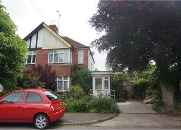 Thumbnail 3 bed end terrace house for sale in Sewell Avenue, Bexhill-On-Sea
