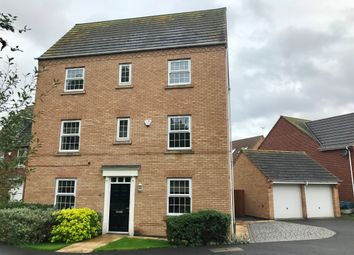 Thumbnail 4 bedroom detached house for sale in Caspian Drive, Derby
