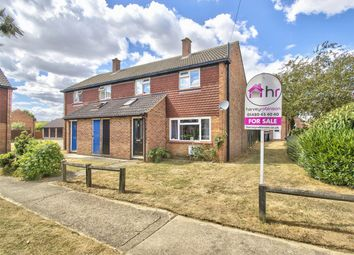 Thumbnail 2 bed semi-detached house for sale in Bath Crescent, Wyton-On-The-Hill, Huntingdon, Cambridgeshire