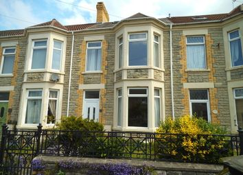 Thumbnail 5 bed terraced house for sale in Acland Road, Bridgend