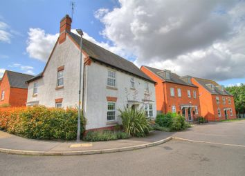 Thumbnail 4 bedroom detached house for sale in Cornfield Close, Ellistown, Coalville