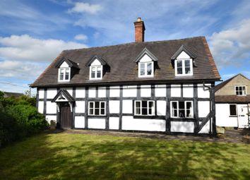 Thumbnail 5 bed cottage for sale in Brock Cottage, Preston Brockhurst, Shrewsbury