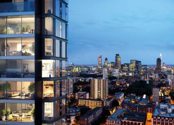Thumbnail 3 bed flat for sale in Carrara Tower, 250 City Road, Islington