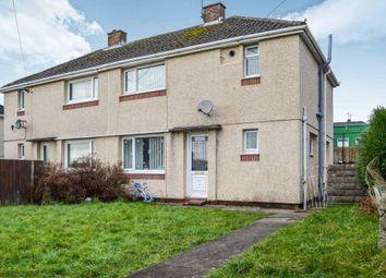 Thumbnail 3 bed semi-detached house for sale in Dan-Y-Gaer Road, Gelligaer, Hengoed