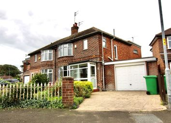 Thumbnail 3 bed semi-detached house for sale in 6 Moor Park Road, East Didsbury, Manchester