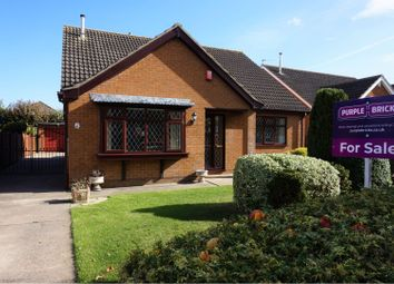 Thumbnail 3 bed detached bungalow for sale in Edinburgh Drive, Holton Le Clay, Grimsby
