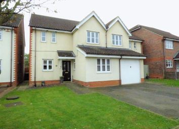 Thumbnail 3 bed semi-detached house for sale in Walkers Way, Wootton, Northampton