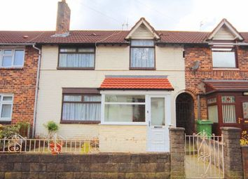 Thumbnail 3 bed terraced house for sale in Crofton Crescent, Old Swan, Liverpool
