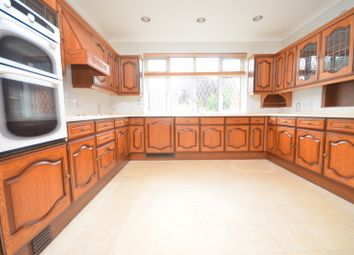 Thumbnail 5 bed bungalow to rent in Corbets Tey Road, Upminster