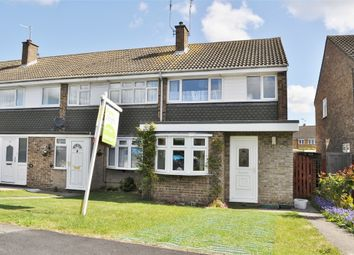 Thumbnail 3 bed end terrace house for sale in Firecrest Road, Chelmsford, Essex