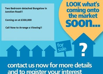 Thumbnail 2 bed detached bungalow for sale in Junction Road, Burgess Hill