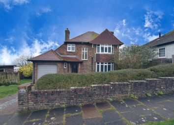 Thumbnail 3 bed detached house for sale in Grand Crescent, Rottingdean