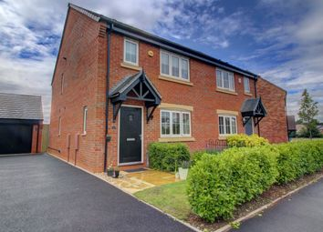 Thumbnail 3 bed semi-detached house for sale in Oak Way, Streethay, Lichfield