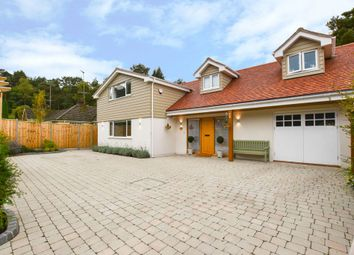 Thumbnail 4 bed detached house for sale in Vale Close, Lower Bourne, Farnham
