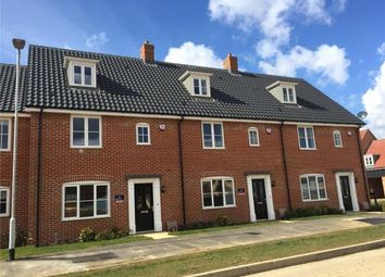 Thumbnail 3 bed terraced house for sale in Mulberry Grove, North Walsham, Norwich
