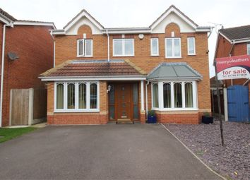 Thumbnail 4 bed detached house for sale in Egremont Court, Maltby, Rotherham, South Yorkshire