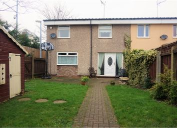 Thumbnail 3 bedroom end terrace house for sale in Upavon Garth, Hull