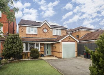 Thumbnail 4 bed detached house for sale in Grandfield Way, North Hykeham