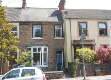 Thumbnail 3 bed terraced house to rent in Woodhouse Road, Mansfield