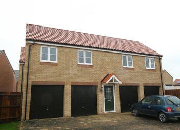 Thumbnail 2 bed flat to rent in Main Road, Barleythorpe, Oakham