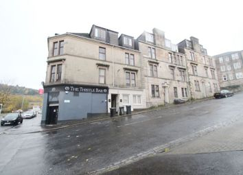 Thumbnail 1 bed flat for sale in 10, Hay Street, Flat 0-1, Greenock PA154Ba