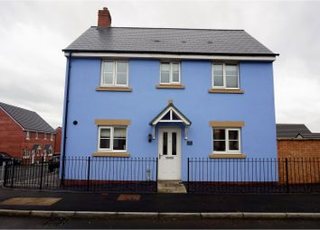 Thumbnail 3 bed detached house for sale in Ffordd Y Draen, Coity, Bridgend