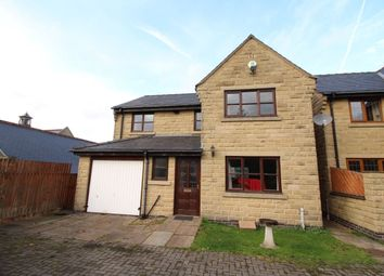 Thumbnail 4 bed detached house for sale in Hordern Close, Hadfield, Glossop