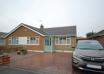 Thumbnail 2 bed semi-detached bungalow for sale in Oakwood Drive, Whitstable