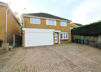 Thumbnail 5 bed detached house to rent in Alwyn Close, Elstree, Borehamwood