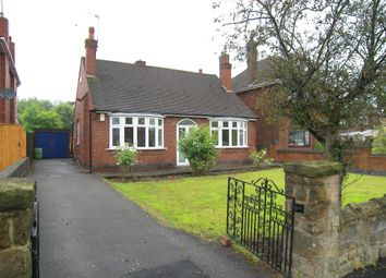 Thumbnail 2 bed detached bungalow to rent in Hickton Road, Swanwick, Alfreton