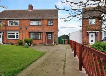 Thumbnail 3 bed semi-detached house for sale in The Crescent, Thorngumbald