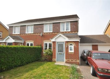 Thumbnail 3 bed semi-detached house for sale in Wimborne Close, Beggarwood, Basingstoke