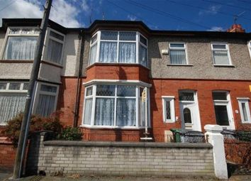 Thumbnail 4 bed terraced house to rent in Sandcliffe Road, Wallasey
