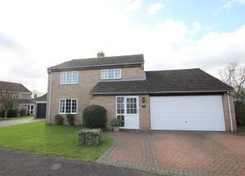 Thumbnail 4 bed detached house for sale in Arkwright Road, Milton Ernest, Bedford