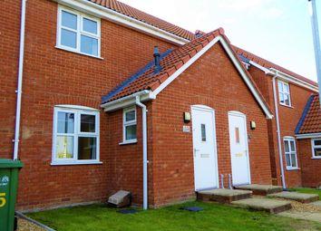 Thumbnail 2 bed terraced house for sale in Piebald Close, Piebald Close, Downham Market, Norfolk, Downham Market