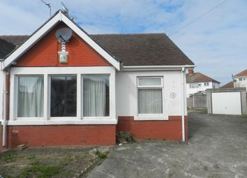 Thumbnail 2 bedroom semi-detached bungalow for sale in Ashmore Grove, Thornton-Cleveleys