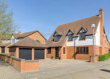 Thumbnail 4 bed detached house for sale in Braford Gardens, Shenley Brook End, Milton Keynes
