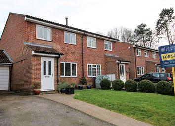 Thumbnail 3 bed semi-detached house for sale in Ellington Drive, Basingstoke
