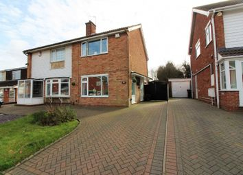 Thumbnail 2 bed semi-detached house for sale in Helming Drive, Wolverhampton