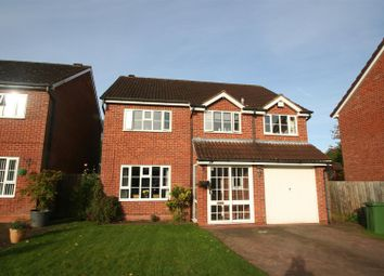 Thumbnail 4 bed detached house for sale in Kendrick Close, Solihull