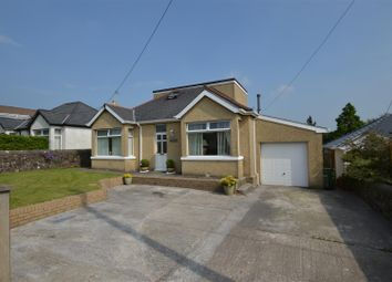 Thumbnail 4 bed detached bungalow for sale in Brynna Road, Pencoed, Bridgend