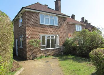 Thumbnail 3 bed semi-detached house to rent in Outer Circle, Southampton