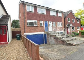 Thumbnail 3 bed town house for sale in Budebury Road, Staines Upon Thames, Surrey
